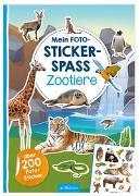 Cover-Bild zu Schindler, Eva (Gestaltet): Mein Foto-Stickerspaß - Zootiere