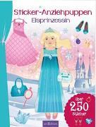 Cover-Bild zu Schindler, Eva (Gestaltet): Sticker-Anziehpuppen Eisprinzessin