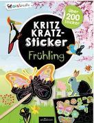 Cover-Bild zu Schindler, Eva (Gestaltet): Kritzkratz-Sticker Frühling
