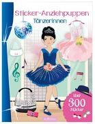 Cover-Bild zu Schindler, Eva (Gestaltet): Sticker-Anziehpuppen Tänzerinnen
