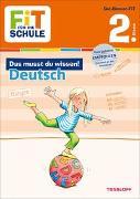 Cover-Bild zu Fit für die Schule: Das musst du wissen! Deutsch 2. Klasse von Reichert, Sonja