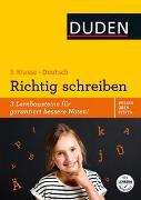 Cover-Bild zu Wissen - Üben - Testen: Deutsch - Richtig schreiben 3. Klasse von Holzwarth-Raether, Ulrike