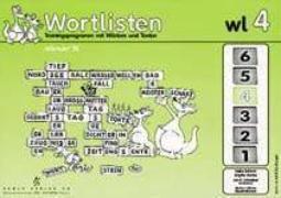 Cover-Bild zu Wortlisten 4. Trainingsprogramm mir Wörtern und Texten von Harries, Brigitte