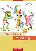 Cover-Bild zu Schreib richtig 2. Ausgabe 2007. Arbeitsheft