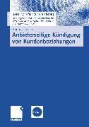 Cover-Bild zu Anbieterseitige Kündigung von Kundenbeziehungen (eBook) von Lucco, Andreas