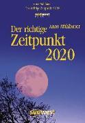 Cover-Bild zu Der richtige Zeitpunkt 2020 Tagesabreißkalender von Mühlbauer, Anna