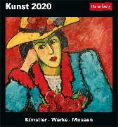 Cover-Bild zu Kunst Kalender 2020 von Seelig, Gero