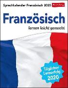 Cover-Bild zu Sprachkalender Französisch Kalender 2020 von Butz, Steffen