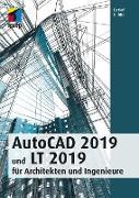 Cover-Bild zu AutoCAD 2019 und LT 2019 für Archietkten und Ingenieure (eBook) von Ridder, Detlef