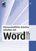 Cover-Bild zu Wissenschaftliche Arbeiten schreiben mit Microsoft Office Word 365, 2019, 2016, 2013, 2010 (eBook) von Tuhls, G. O.