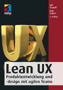 Cover-Bild zu Lean UX von Gothelf, Jeff