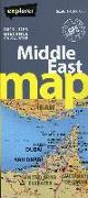 Cover-Bild zu Middle East Road Map von Explorer Publishing and Distribution