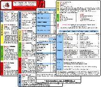 Cover-Bild zu Schemata & Scores in Klinik & Rettungsdienst (2 Karten Set) - SSSS-Schema, ABCDE-Schema, Basics-Schema, IPAP-Schema, SAMPLER(!)S, WASB, FAST, OPQRST, PECH-Regel, DMS, 4Hs, HITS, GCS, KUSS, APGAR von Berghaus, Sven