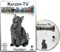 Cover-Bild zu Katzen-TV - Fernsehen für Fellnasen - Vol. 1 - Der ultimative Katzenspaß! Das Geschenk für Katzen - Video für Katzen von Hawelka Verlag (Hrsg.)