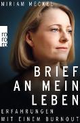 Cover-Bild zu Brief an mein Leben von Meckel, Miriam