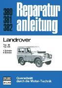 Cover-Bild zu Landrover Typ 88 / Typ 109 4-u.6-Zyl. Benziner/ 6-Zyl. Diesel