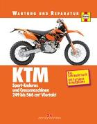 Cover-Bild zu KTM Sport-Enduros und Crossmaschinen von Mather, Phil