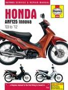 Cover-Bild zu Honda Anf125 Innova Scooter (03 - 12) von Coombs, Matthew