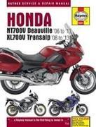 Cover-Bild zu Honda NT700V Deauville & XL700V Transalp (06 - 13) von Coombs, Matthew