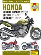 Cover-Bild zu Honda CB600 Hornet, CBR600F (07-1 von Coombs, Matthew