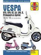 Cover-Bild zu Vespa GTS125, 250 & 300ie, LX, S, Primavera 125 & 150 Service & Repair Manual (2005 to 2018) von Coombs, Matthew