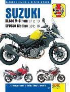 Cover-Bild zu Suzuki DL650 V-Strom & SFV650 Gladius (04 - 19) von Coombs, Matthew