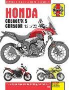 Cover-Bild zu Honda CB500F/X & CBR500R update (13 -20) von Coombs, Matthew
