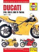 Cover-Bild zu Ducati 748, 916 & 996 V-Twins '94 to '01 von Coombs, Matthew