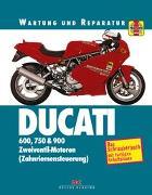Cover-Bild zu Ducati 600, 750 & 900 von Cox, Penny
