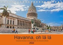 Cover-Bild zu Havanna o la la (Tischkalender 2022 DIN A5 quer) von Abel, Micaela
