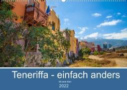 Cover-Bild zu Teneriffa - einfach anders (Wandkalender 2022 DIN A2 quer) von Abel, Micaela