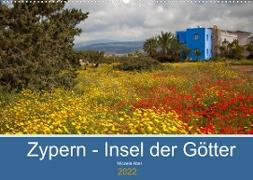 Cover-Bild zu Zypern - Insel der Götter (Wandkalender 2022 DIN A2 quer) von Abel, Micaela