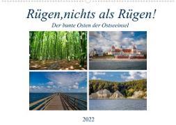 Cover-Bild zu Rügen, nichts als Rügen! (Wandkalender 2022 DIN A2 quer) von Abel, Micaela