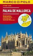 Cover-Bild zu MARCO POLO Cityplan Palma 1:15 000. 1:15'000