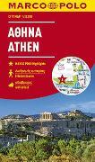 Cover-Bild zu MARCO POLO Cityplan Athen 1:12000. 1:12'000
