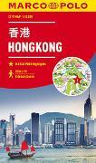 Cover-Bild zu MARCO POLO Cityplan Hongkong 1:12000. 1:12'000