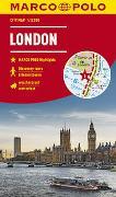 Cover-Bild zu MARCO POLO Cityplan London 1:12 000. 1:12'000