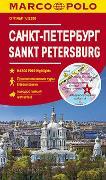 Cover-Bild zu MARCO POLO Cityplan Sankt Petersburg 1:12 000. 1:12'000