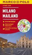 Cover-Bild zu MARCO POLO Cityplan Mailand 1:12 000. 1:12'000