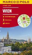 Cover-Bild zu MARCO POLO Cityplan Wien 1:12 000. 1:12'000