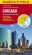 Cover-Bild zu MARCO POLO Cityplan Chicago 1:15 000. 1:15'000