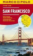 Cover-Bild zu MARCO POLO Cityplan San Francisco 1:15 000. 1:15'000