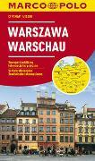 Cover-Bild zu MARCO POLO Cityplan Warschau 1:15 000. 1:15'000