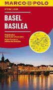 Cover-Bild zu MARCO POLO Cityplan Basel 1:15 000. 1:15'000