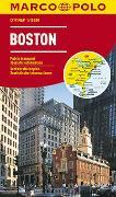 Cover-Bild zu MARCO POLO Cityplan Boston 1:15 000. 1:15'000