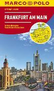 Cover-Bild zu MARCO POLO Cityplan Frankfurt am Main 1:16 000. 1:16'000