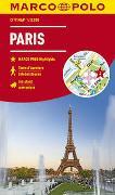 Cover-Bild zu MARCO POLO Cityplan Paris 1:12 000. 1:12'000