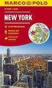 Cover-Bild zu MARCO POLO Cityplan New York 1:12 000. 1:12'000