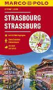 Cover-Bild zu MARCO POLO Cityplan Straßburg 1:12 000. 1:12'000