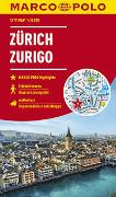 Cover-Bild zu MARCO POLO Cityplan Zürich 1:12 000. 1:12'000
